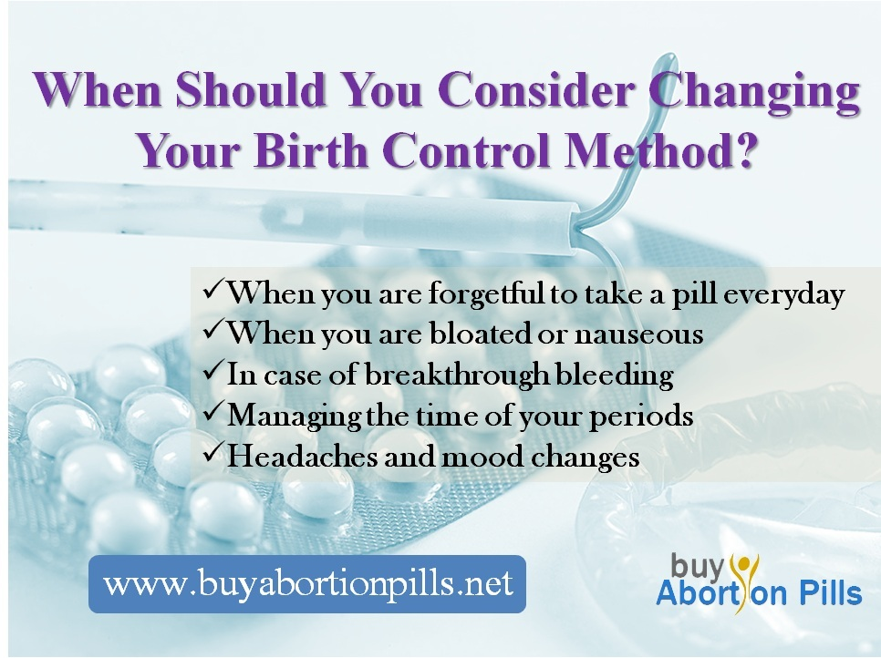 When Should You Consider Changing Your Birth Control Method?