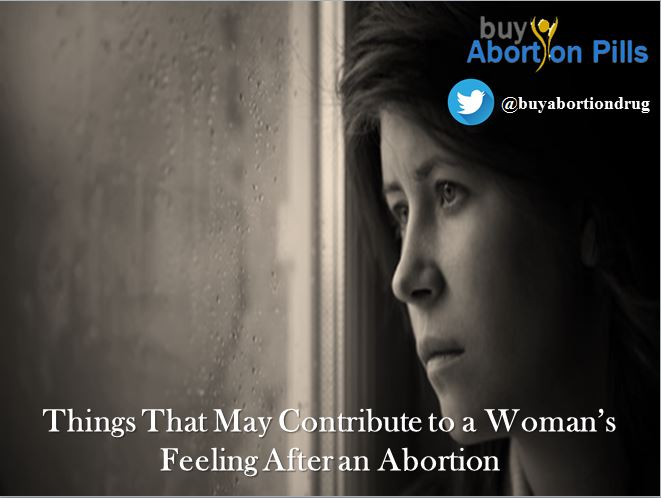 Woman's Feeling After an Medical Abortion