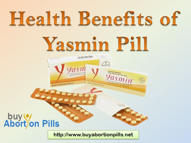Health Benefits of Yasmin pill