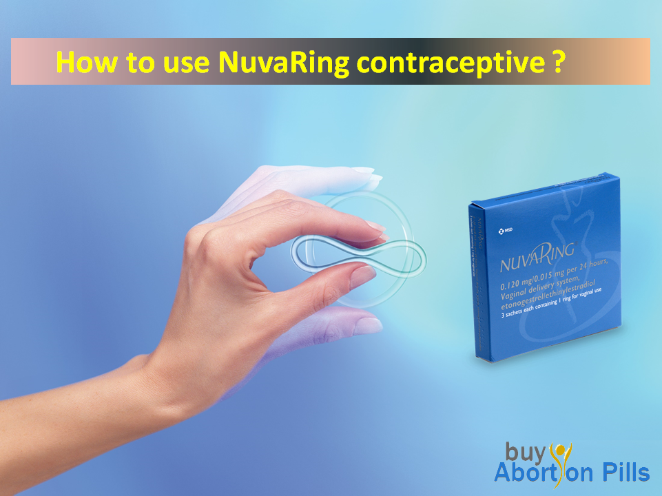 How to use NuvaRing Contraceptives?